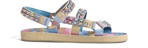 Footwear, Sandal, Shoe, Beige,