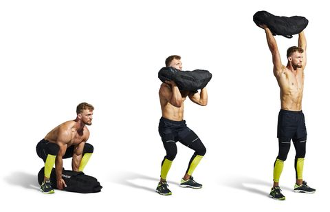 Leg, standing, elbow, muscle, knee, fitness, thigh, glove, active pants, bare torso,
