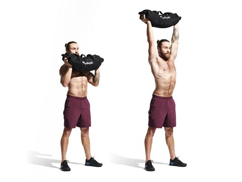 Weights, Shoulder, Exercise equipment, Arm, Standing, Joint, Kettlebell, Muscle, Physical fitness, Dumbbell,