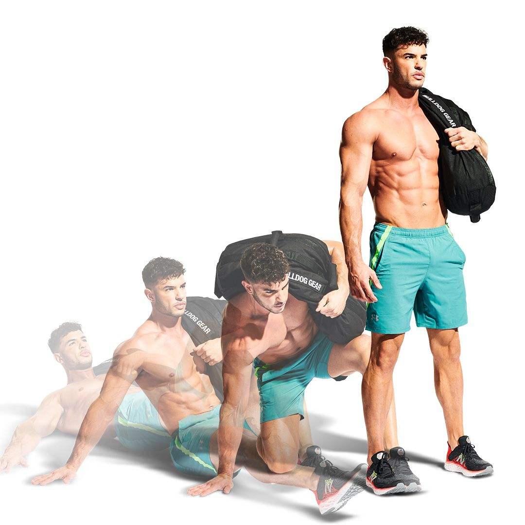 The Best Exercise You're Not Doing: The Sandbag Get-Up