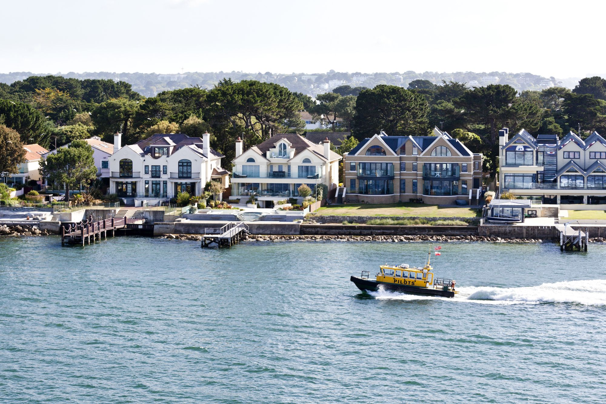 Millionaires Row In Sandbanks Dorset Is The World S Most Expensive Coastal Street