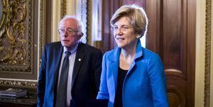 Sen. Bernie Sanders and Sen. Elizabeth Warren