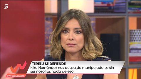 Kiko Hernández, Sandra Barneda, Terelu Campos, Viva la vida, Viva la vida manipulación, Sálvame, Casa Terelu Campos