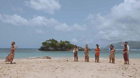 sandra barneda da la bienvenida a las parejas de 'la isla de las tentaciones 2'