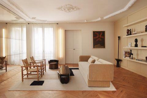 sandra benhamou paris house living room