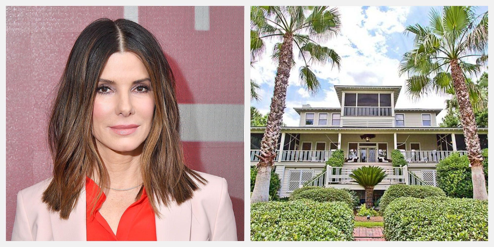 Sandra Bullock Is Selling Her Georgia Beach House for $6.5 Million