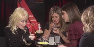 Sandra Bullock / Jennifer Aniston tequila