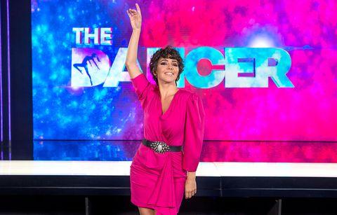 sandra cervera, presentadora de 'the dancer' así ha cambiado