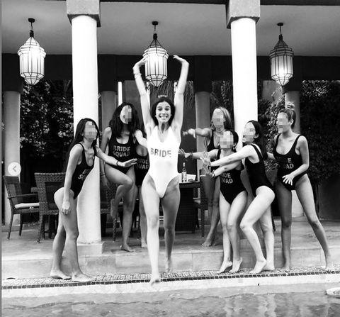 Team, Fun, Majorette (dancer), Black-and-white, Monochrome, Recreation, Photography, Individual sports, Sportswear, Sports,