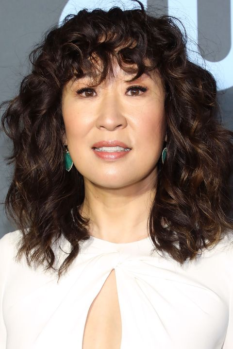 sandra oh Valentine's Day Hairstyles