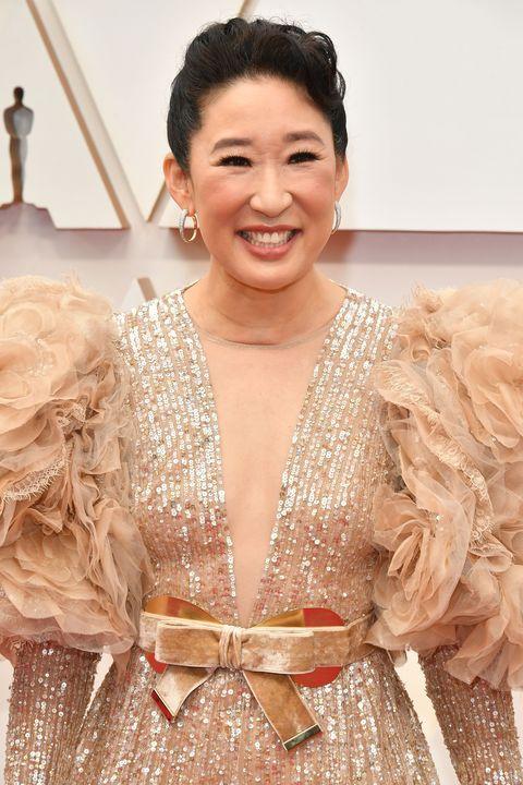 famous asian women  sandra oh