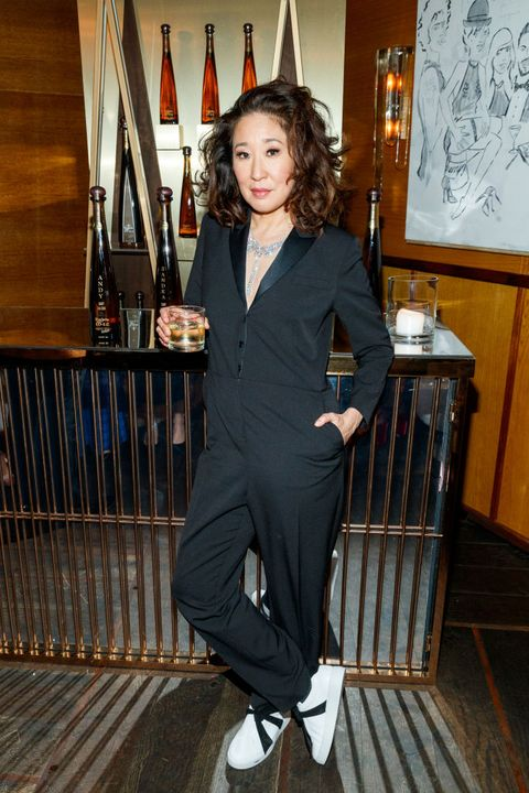 Sandra Oh Golden Globes After-Party