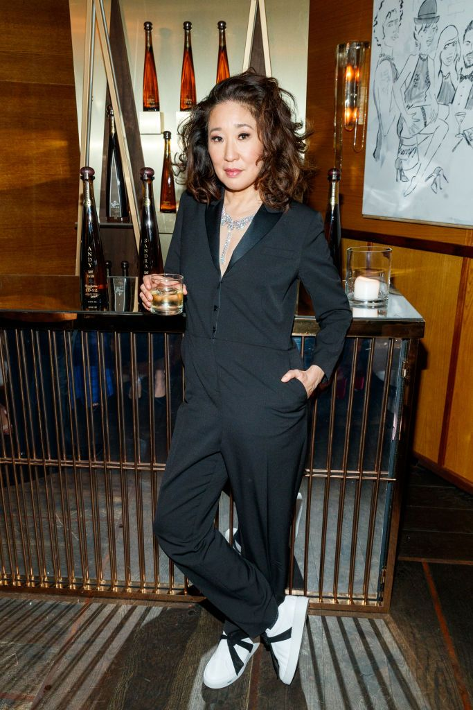 Sandra Oh & Andy Samberg Celebrate With Tequila Don Julio 1942 At Their Private Golden Globes After-Party On Sunday, January 6