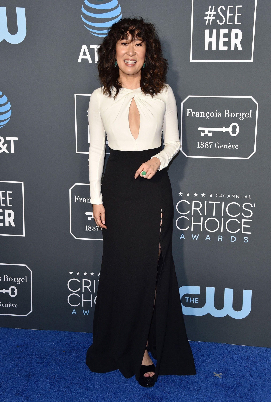 Sandra Oh, Critics' Choice Awards 2019