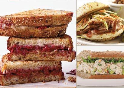 400 Calorie Sandwiches