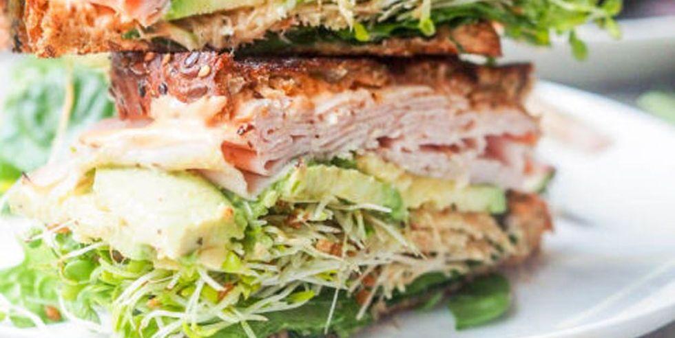 Sandwiches fáciles y saludables