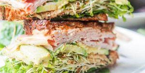 Sándwiches fáciles y saludables
