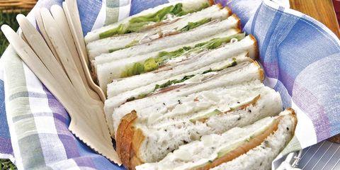 recetas para picnic sándwiches variados
