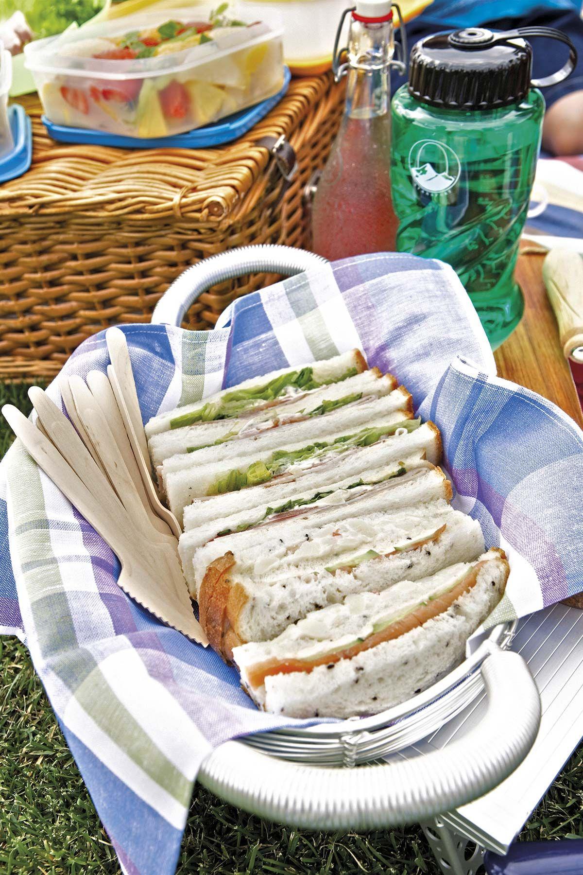 Recetas para picnic: Sándwiches variados