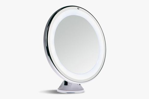 8 best lighted makeup mirrors in 2018 makeup and vanity mirrors sanheshun 7x magnifying makeup mirror mozeypictures Images