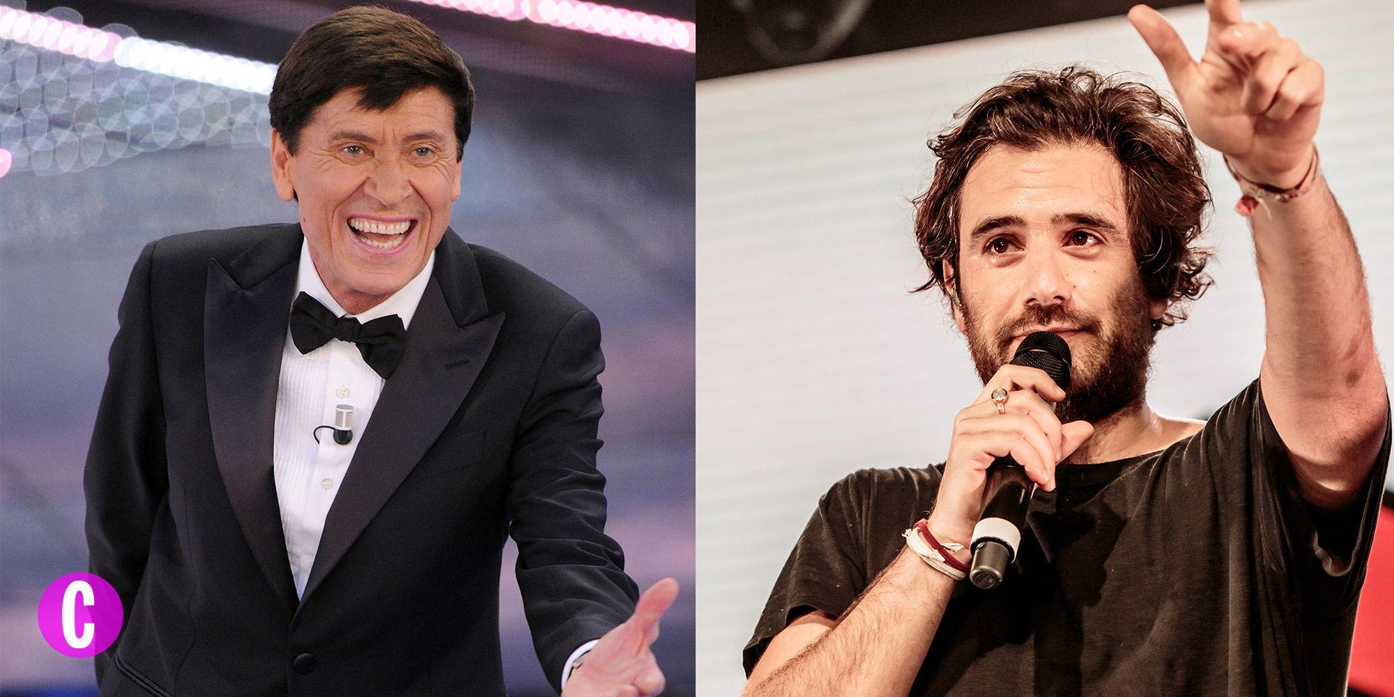 Due immagini di Gianni Morandi che sarà ospite a Sanremo 2018 e Tommaso Paradiso