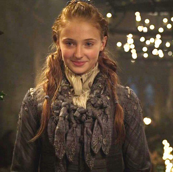Young Sansa Stark back in Season One.