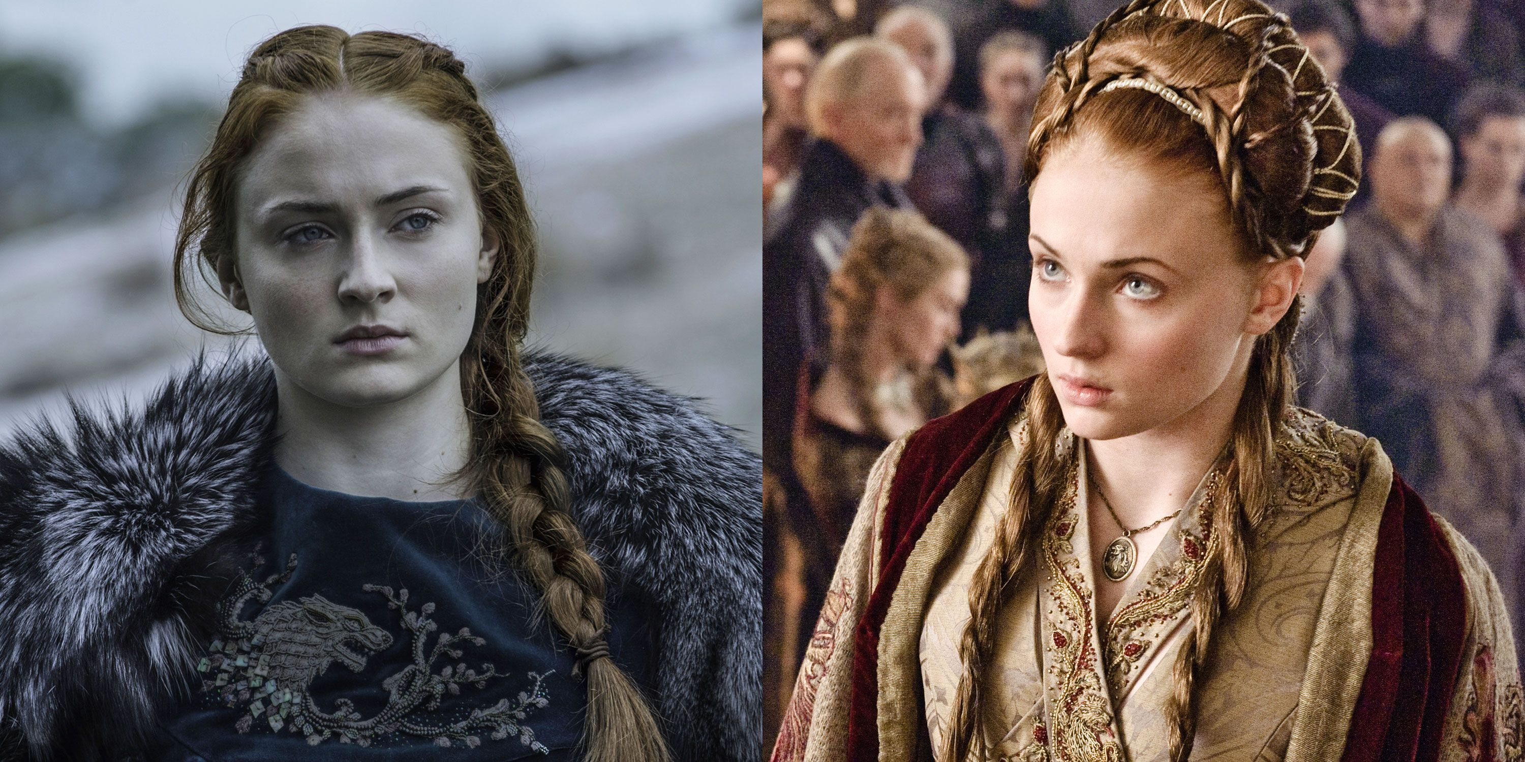 Game of Thrones Sansa Stark Hair Evolution - Game of Thrones Sansa
