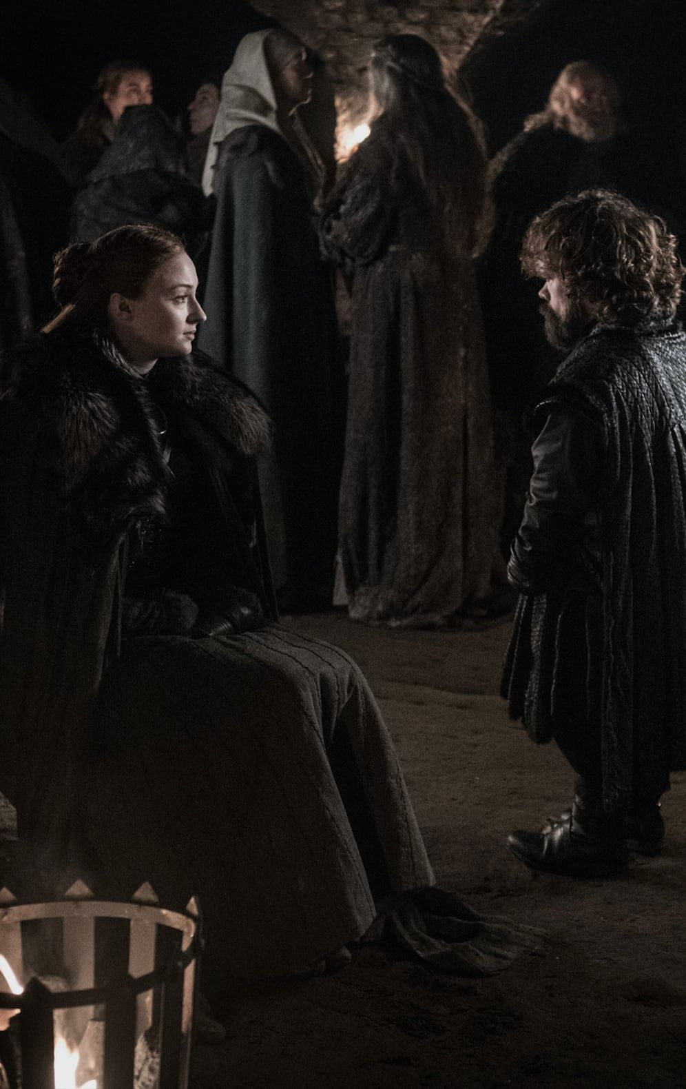 Sansa y Tyrion Game of Thrones