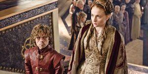 Tyrion y Sansa, en una escena de 'Juego de tronos'.
