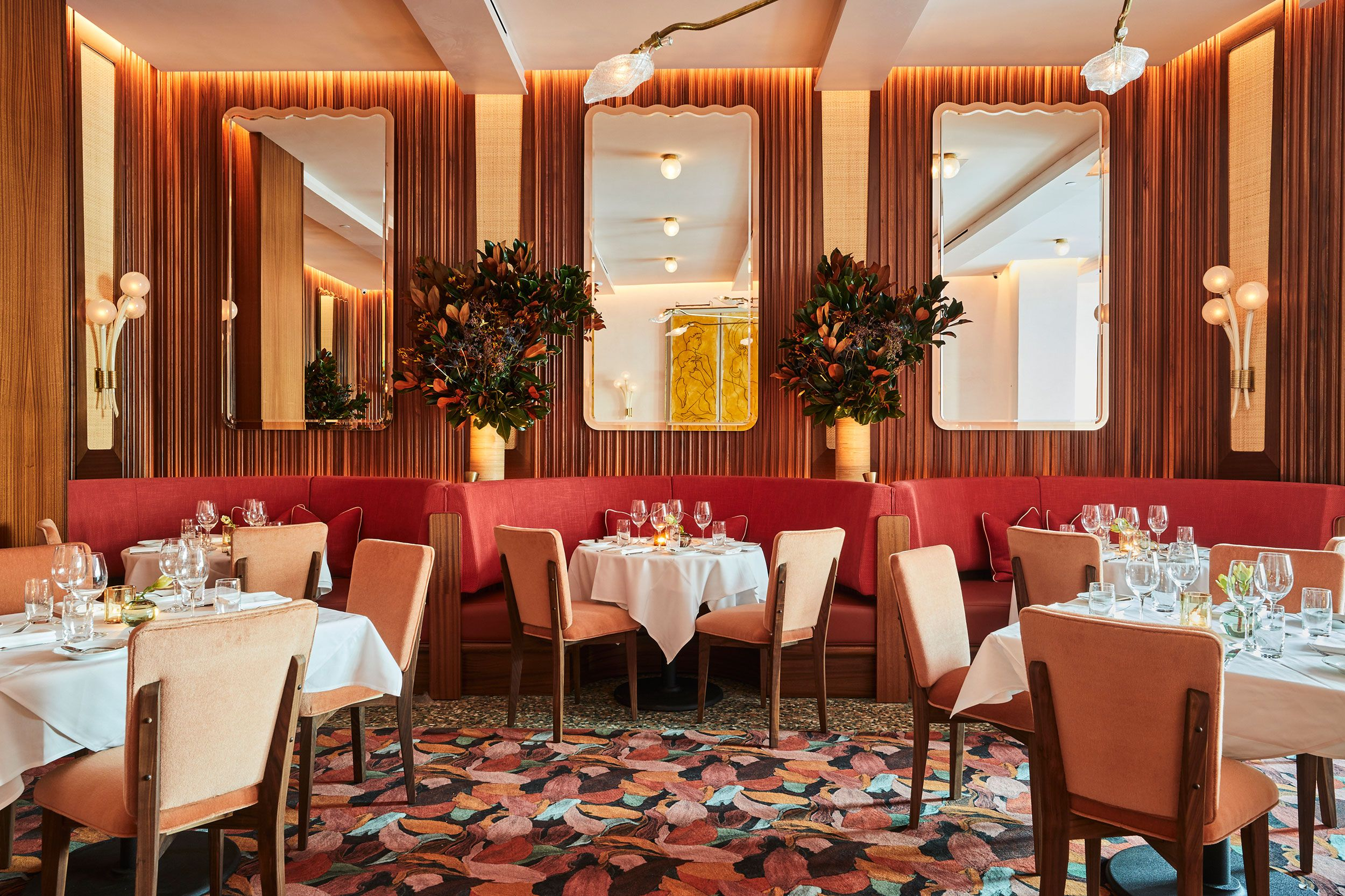 Step Inside Lower Manhattan's Prettiest New Restaurant