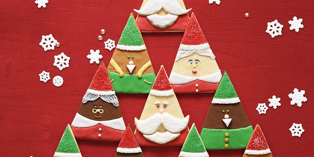 Santa and Elf Cookies