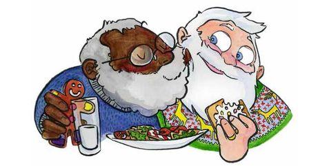 Cartoon, Illustration, Clip art, Fictional character, Art, Sheep,