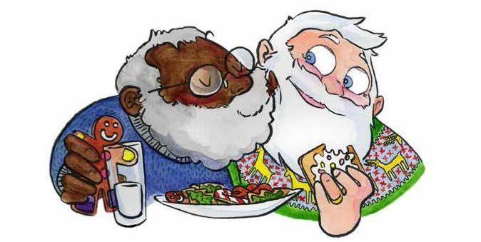 ap quach - Santa For Christmas