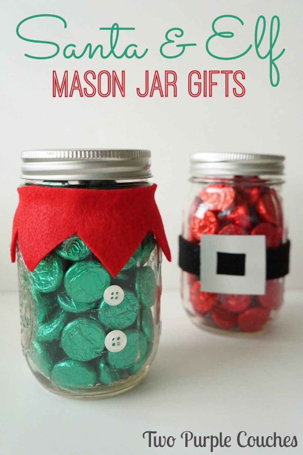 15 Mason Jar Christmas Crafts - Christmas Crafts and Ideas- golfhr.info