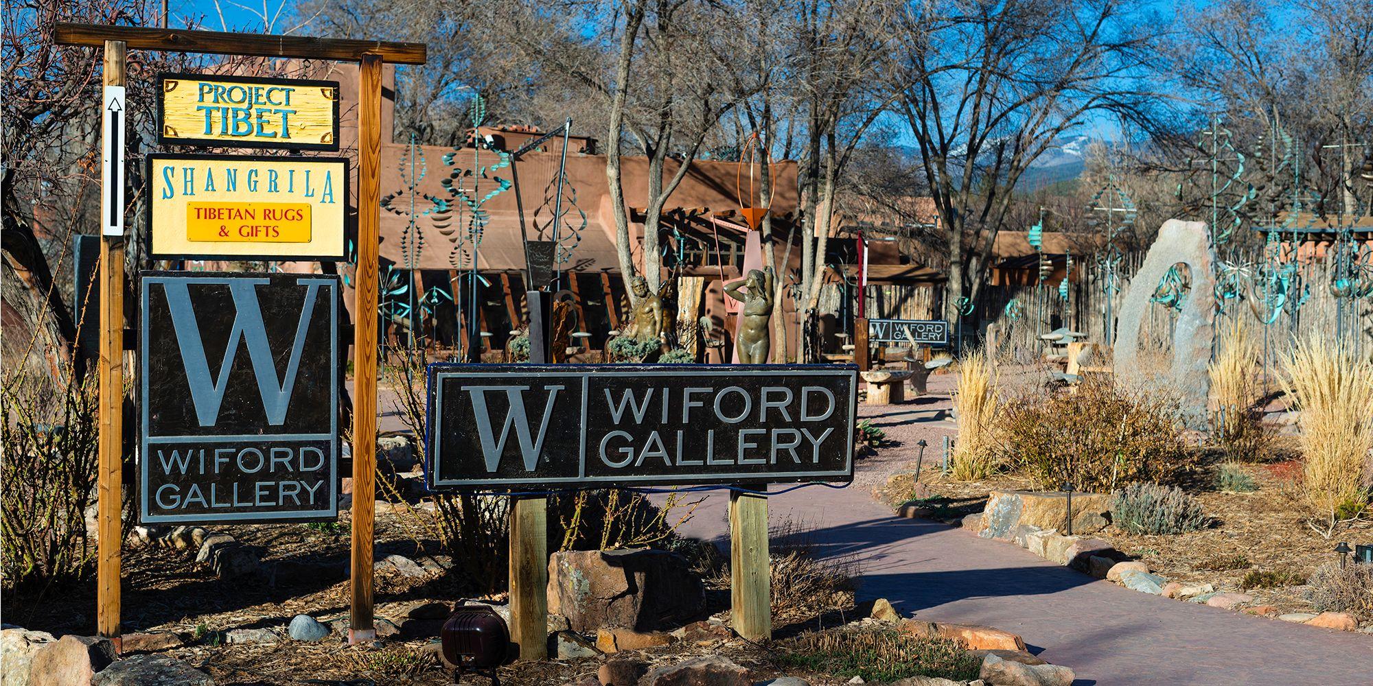 Canyon Road,Santa Fe  — New Mexico