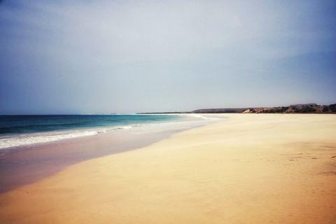 best beaches in the world -Santa Monica Beach, Boa Vista Cape Verde