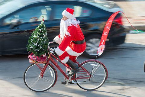 Santa Cycling Rampage
