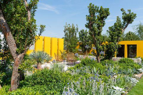 Santa Rita 'Living La Vida 120' Garden - Hampton Court Palace Flower Show 2018