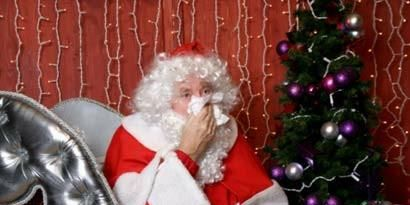 Event, Santa claus, Christmas decoration, Fictional character, Holiday, Christmas eve, Christmas, Interior design, Christmas tree, Costume accessory,