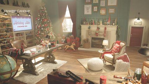 yankee candle santa's workshop