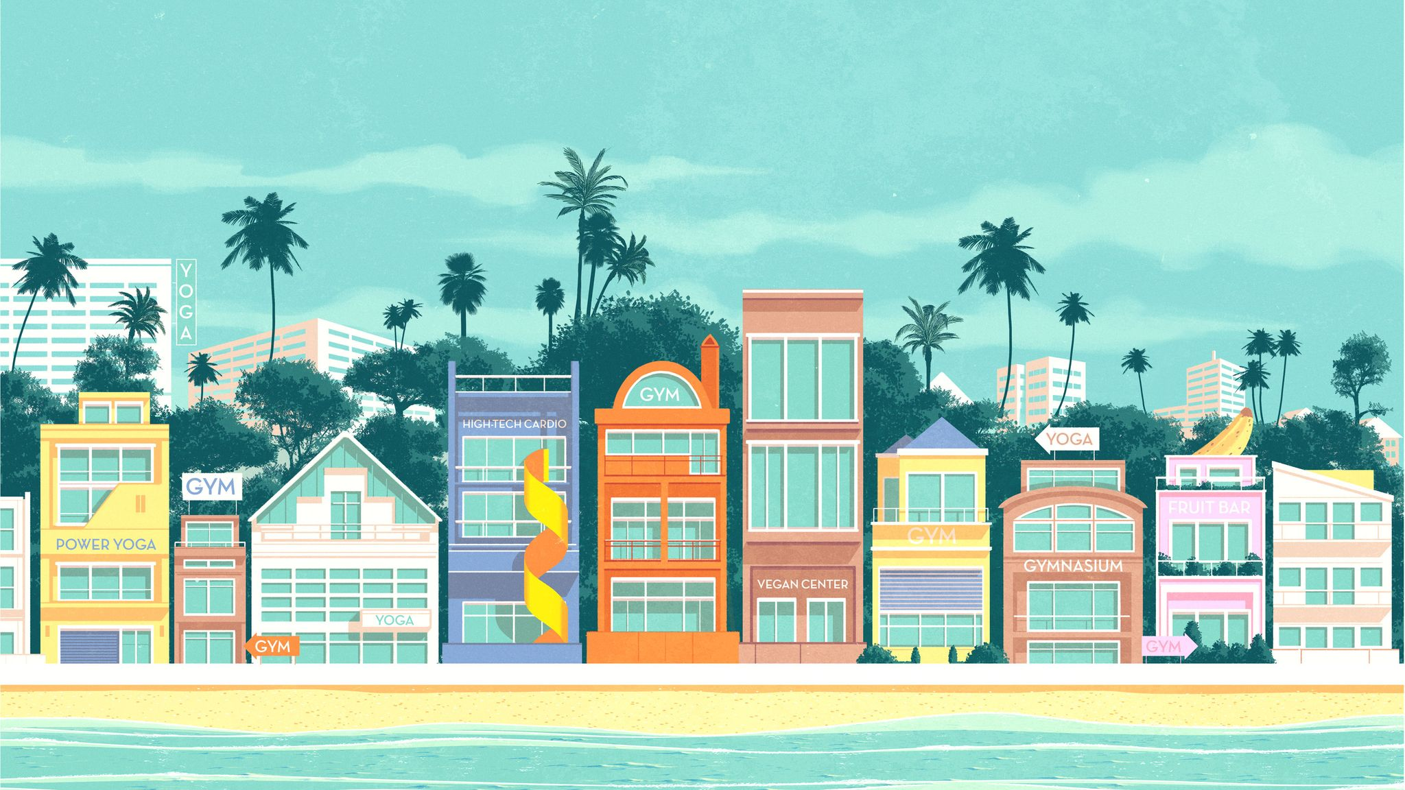What to do in Los Angeles: A Healthy Tourist's Guide