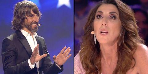 El apoteósico 'zasca' de Santi Millán que ha dejado descolocada a Paz Padilla durante la final de 'Got Talent'.