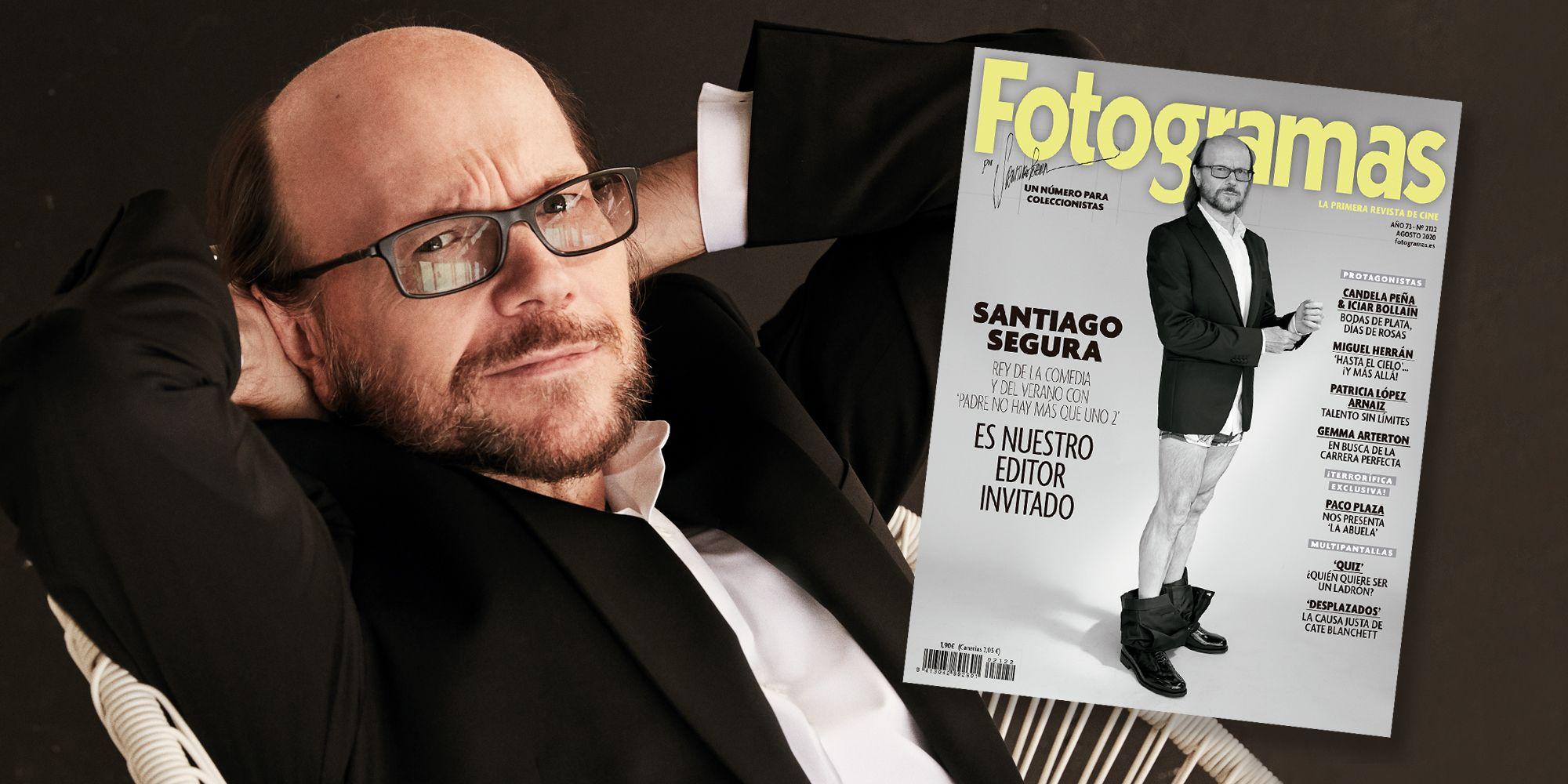 Padre no hay más que uno 2: Santiago Segura, portada de Fotogramas