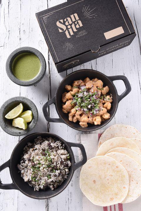 taqueos de santita, del restaurante santita carbón mexicano de madrid