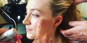 Saoirse Ronan's make-up artist