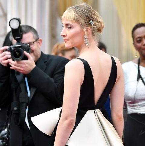 92nd Annual Academy Awards - Saoirse Ronan's new fringe at the 2020 Oscars