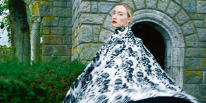 Saoirse Ronan in the February issue of Harper's Bazaar - Mary Queen of Scots interview