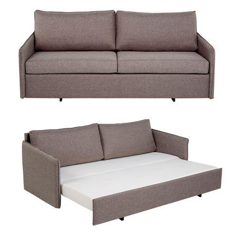 Furniture, Couch, Sofa bed, studio couch, Sleeper chair, Outdoor sofa, Room, Comfort, Futon, Beige,