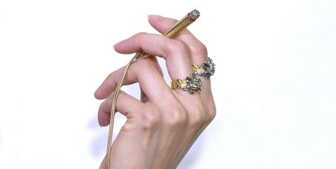 Finger, Hand, Nail, Ring, Fashion accessory, Jewellery, Engagement ring, Arm, Diamond, Gesture,
