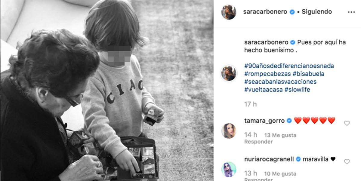 Sara Carbonero elige un destino muy especial para Semana Santa